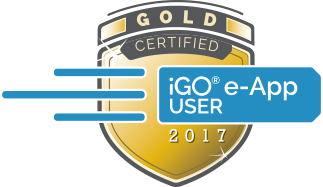 iGO E-App Gold Certification