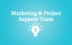 The Marketing & Project Support Team